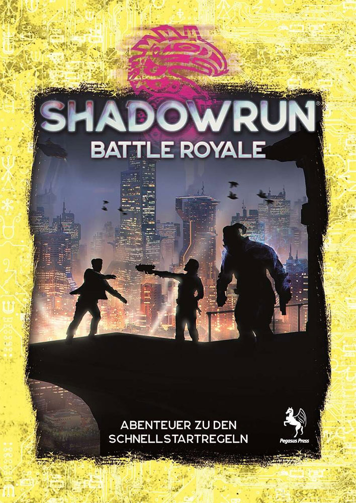 Cover Shadowrun 6 Battle Royale