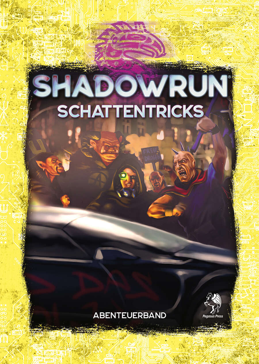 Cover Shadowrun 6 Schattentricks