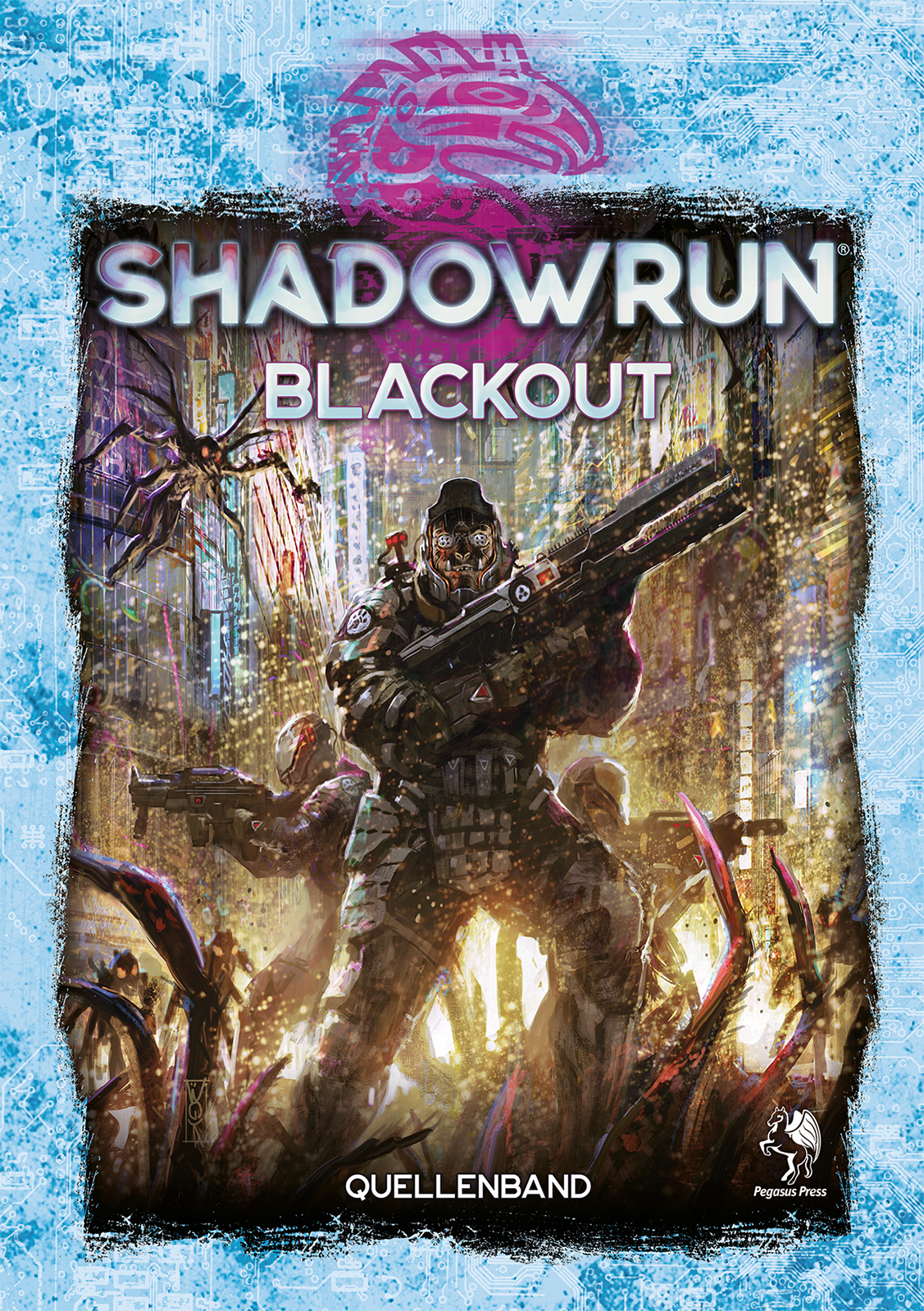 Cover Shadowrun 6 Blackout