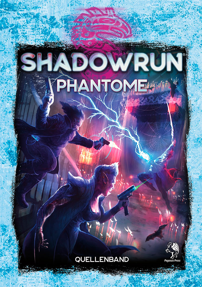 Cover Shadowrun 6 Phantome