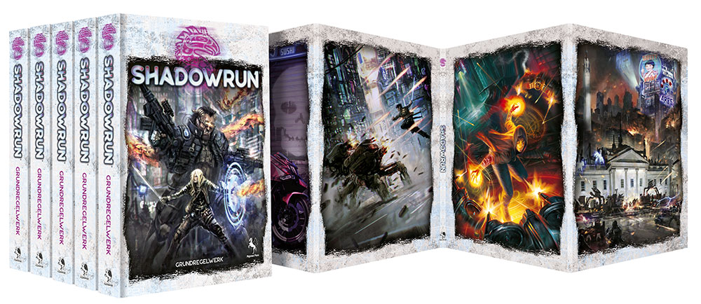 Cover SR6 Grundregelwerk (Bundle)